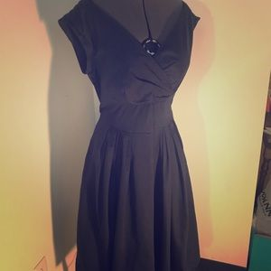 Retro Pleated A-line dress. Brand new.